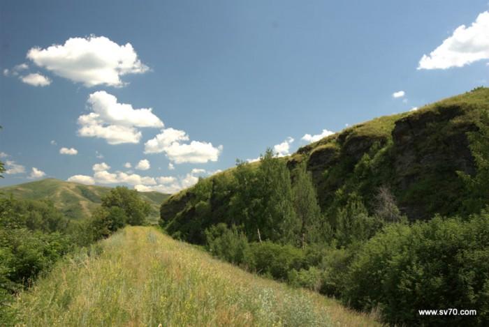 Кросс-кантри «Каменный карьер» … и «Каменный карьер». По дороге с облаками.