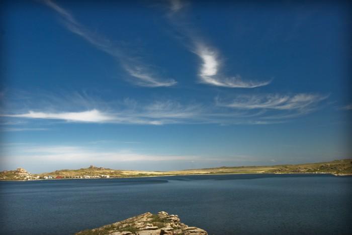 Кросс-кантри вокруг оз. Окуньки (Дубыгалинское) близ Усть-Каменогорска – очень много фото